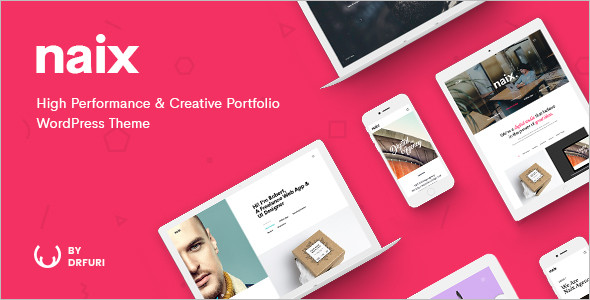 Latest Portfolio WordPress Blog Theme