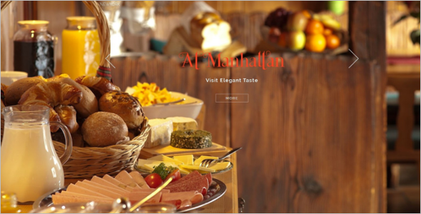 Latest Restaurant HTML Template
