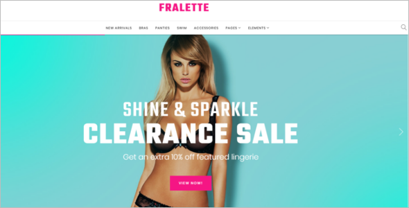 Lingerie WooCommerce Template
