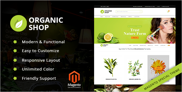 Magento2 E-Commerce Theme
