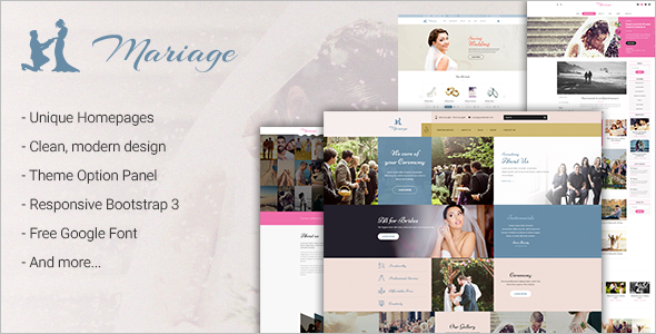 Marriage WordPress Theme