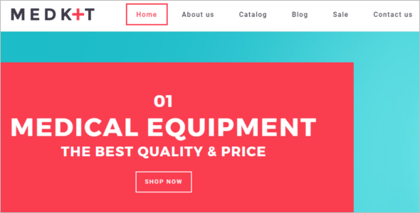 Medical Equipment BootstrapTheme