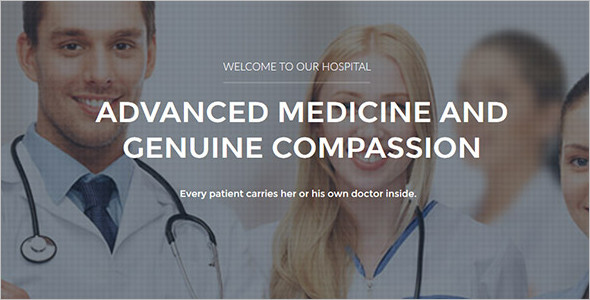 Medical Joomla Template Model