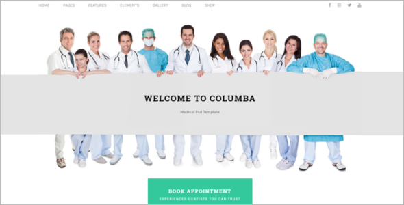 Medical Store HTML Template