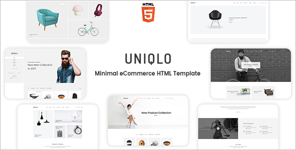 Minimal HTML Fashion Website Template