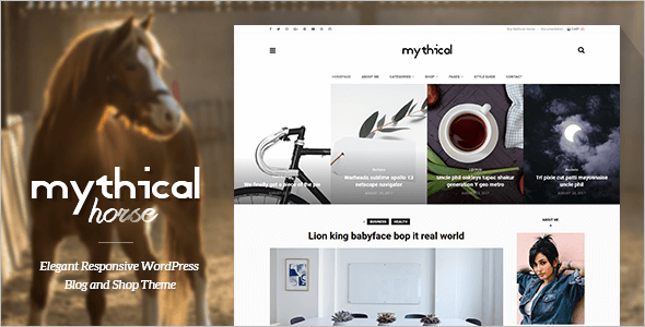 Minimal News WordPress Theme