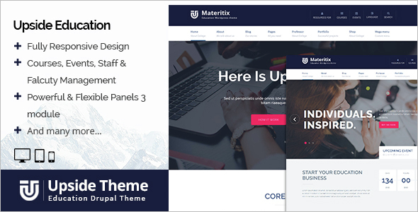 Modern Education Drupal Theme