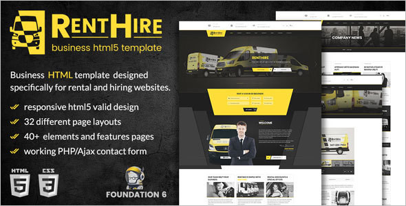 Modern HTML Business Template