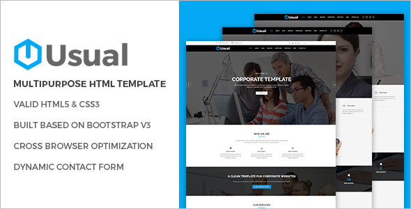 Modern HTML Website Template