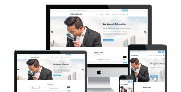 Modern Job Board Joomla Theme