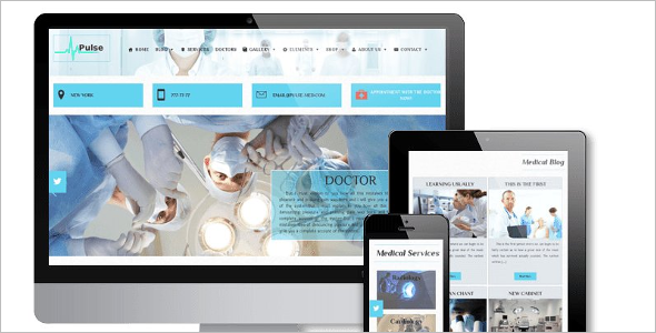 Modern Medical Bootstrap Theme