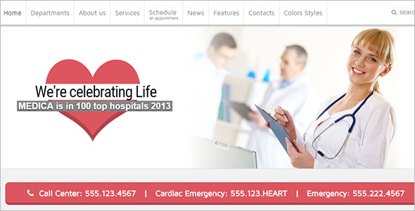 Modern Medical Joomla Template