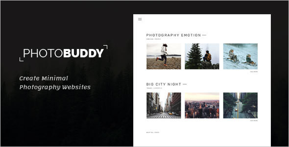 Modern Photography WordPress Theme