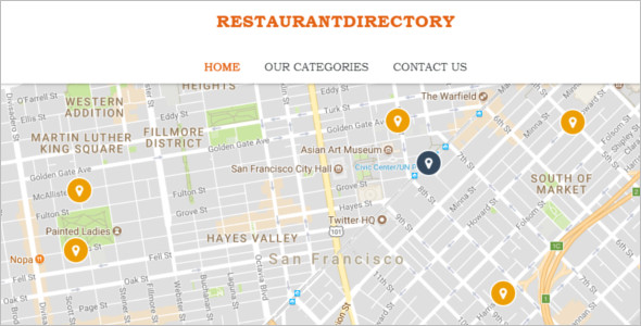 Modern Restaurant WordPress Template