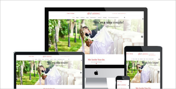 Modern Wedding Joomla Template