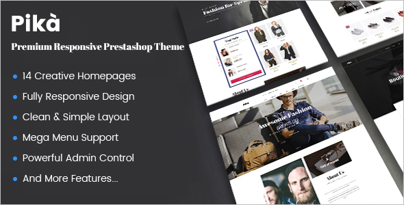 Multi Concept Prestashop Theme