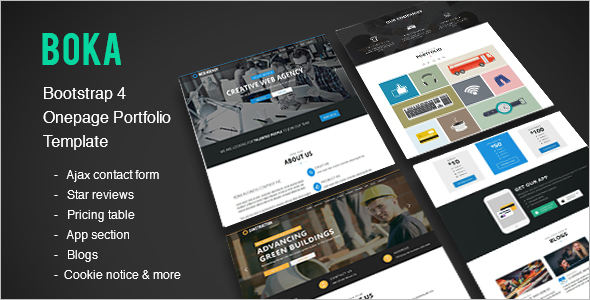 Multi Usage Bootstrap Template