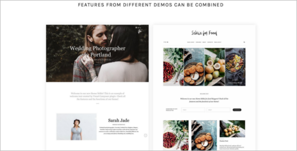 Multiconcept Business Blog Template