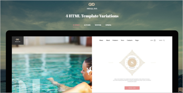 Multipage Hotel Bootstrap Theme