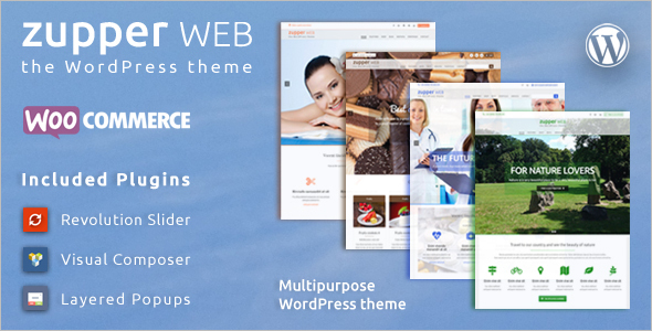 Multipurpose Facebook Style WordPress Templates