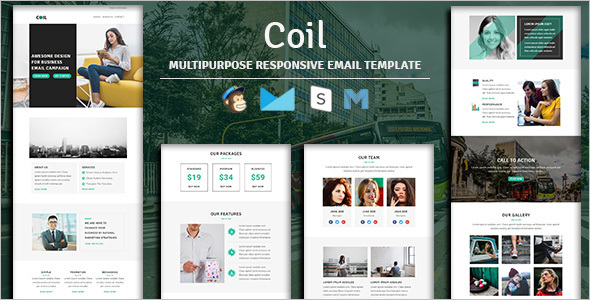 Multipurpose HTML Business Template