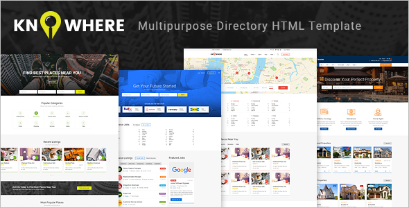 Multipurpose HTML Job Portal Template