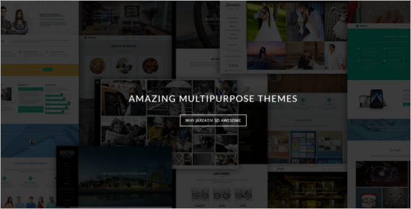 Multipurpose Multimedia WordPress Theme