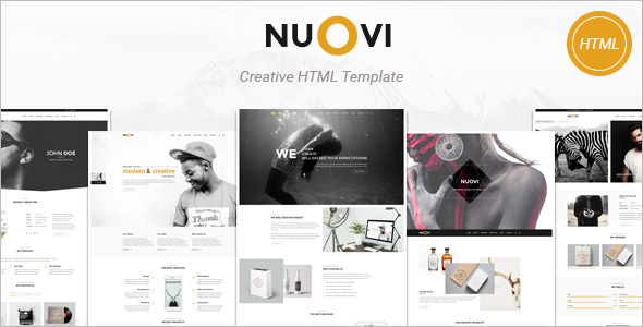 Multipurpose Photography HTML Website Template