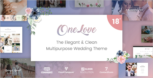 Multipurpose Wedding WordPress Theme