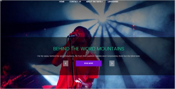 Music Contest WordPress Theme