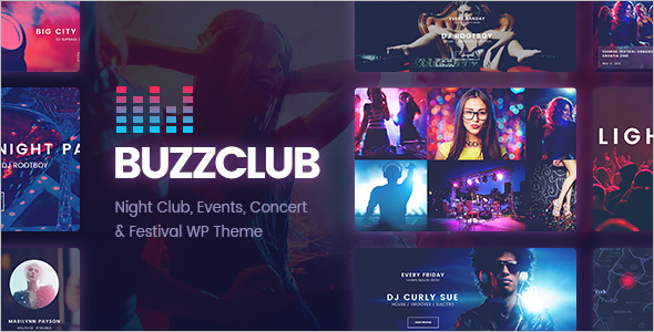 Musical Event WordPress Theme