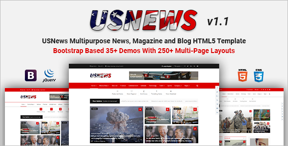News Magazine Blog Template