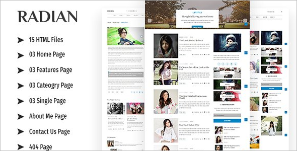 News Website Responsive HTML Template
