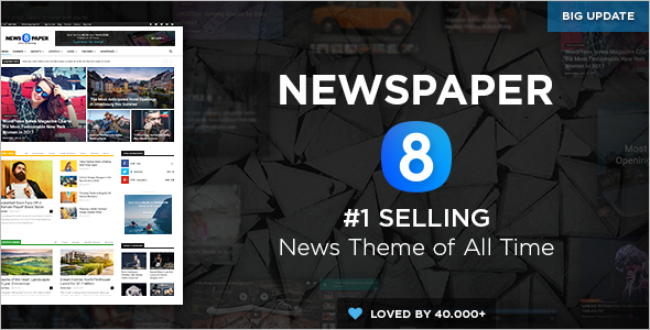 Newspaper Selling WordPress Theme