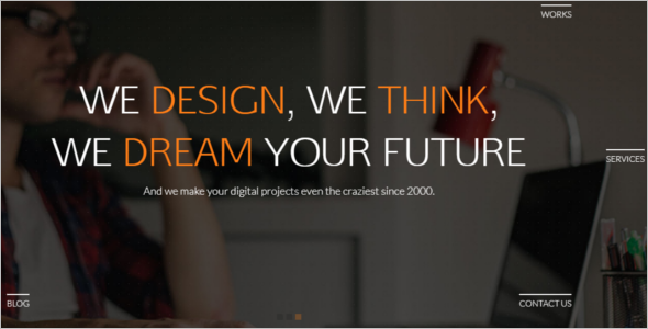 Onepage HTML5 Website Template