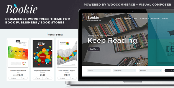 Online Book Store WordPress Theme
