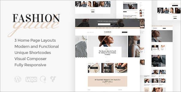 Online Fashion Store WordPress Theme