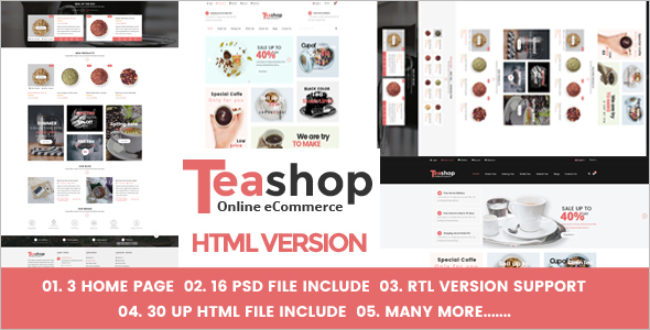 Online Store HTML Website Template