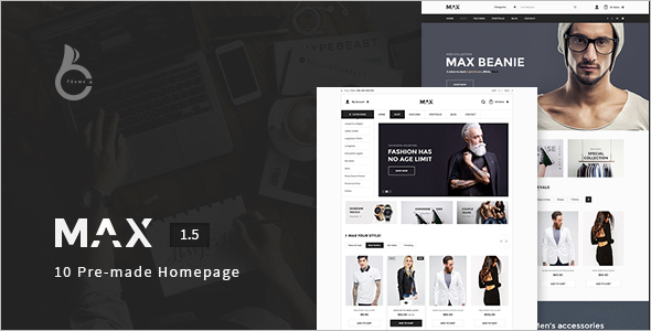 Online Store WooCommerce Template
