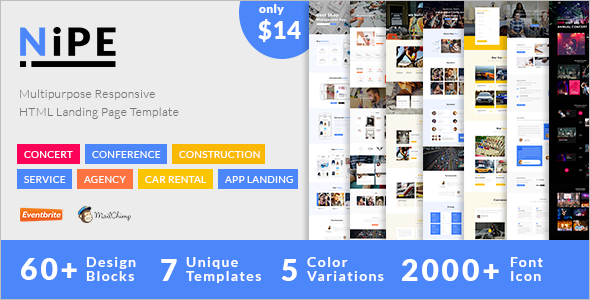 Optimize Landing Page Template