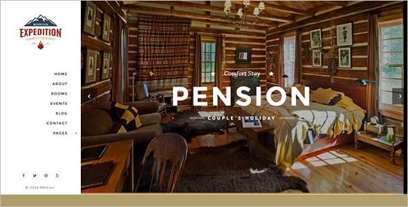 Personal Hotel Bootstrap Theme