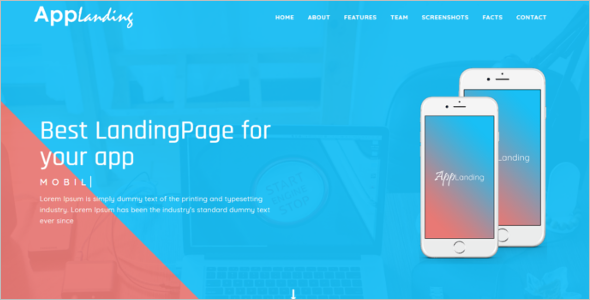 Personal Landing Page Template