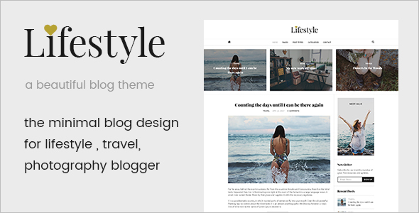 Personal Mobile Friendly WordPress Theme