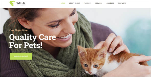 Pets Adoption WordPress Theme