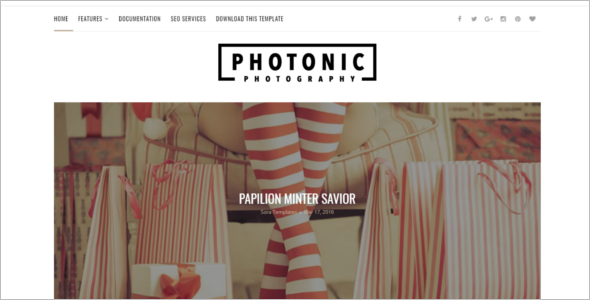 Photo Blog Free Template