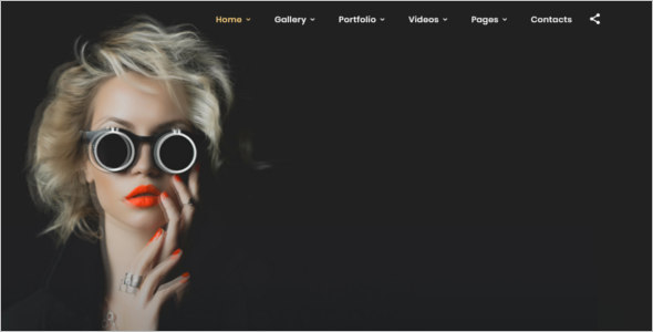 Photographer Bootstrap Template