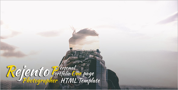 Photographer HTML Website Template