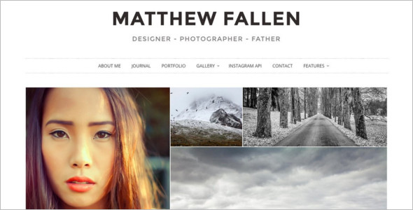 Photography Hosting WordPress Theme
