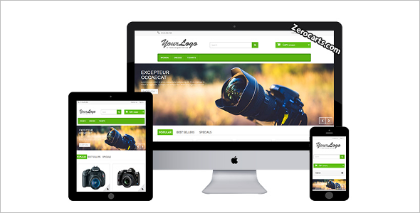 Photography Prestashop Template