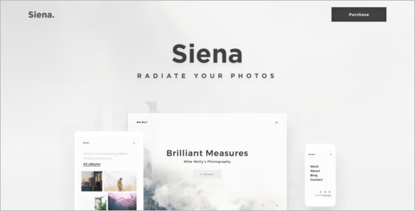 Photography WordPress Layout Theme